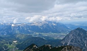...und die Tannheimer Berge hinter mir.