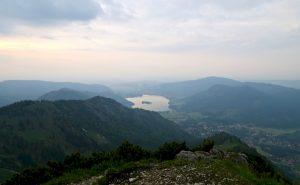 Gipfelblick zum Schliersee
