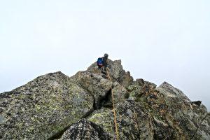Gipfelstand am Piz Balzet