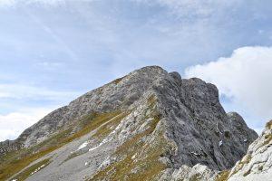 Der Lackenkarkopf mit seiner Steilstufe