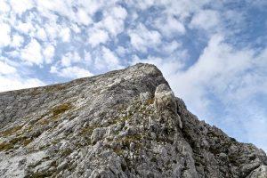 AmSchlussanstieg zur Grabenkarspitze wird es nochmal etwas steiler.