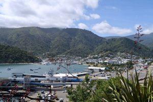 Der Hafen von Picton