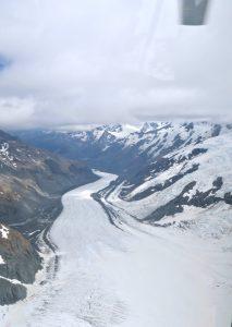 Der Tasman Glacier ist der längste Gletscher Neuseelands.