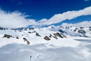 Das Nährgebiet des Franz Josef Glaciers ist ziemlich groß.