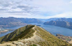 Etwas unterhalb des Gipfels liegt dieser schöne Aussichtspunkt.