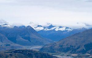 Mount Aspiring steckt leider in Wolken.