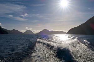 Überfahrt über den See