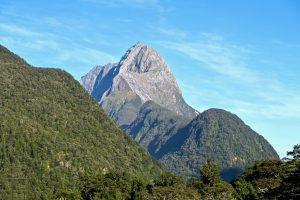 Der bekannte Mitre Peak