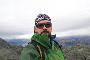 Ein Gipfel-Selfie muss sein.