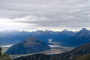 Mount Alfred bietet durch seine isolierte Lage eine tolle Aussicht.