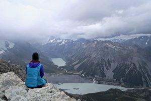 Mount Ollivier bietet eine schöne Aussicht.