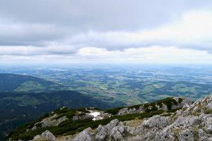 Gipfelblick vom Hochstaufen