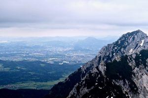 Da hinten liegt schon Salzburg.
