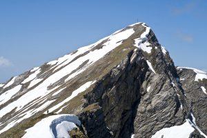 Die nächsten Gipfelaspiranten nehmen die Hoschrutte in Augenschein.