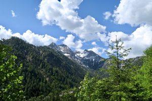 Schöner Blick auf Falzthurnjoch und Bettlerkarspitze