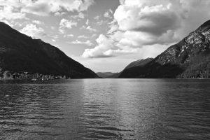 Auf der Rückfahrt halten wir noch am Achensee.