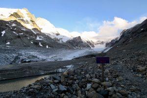 Vor drei Jahren war hier noch Gletscher.