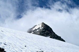 Der Gipfel fast zum Greifen nah