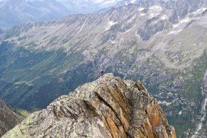 Kletterer am Bergseeschijen