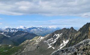 Ausblick auf Furkahörner und Wallis