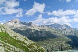 Blick hinüber zu Schijenstock und Bergseeschijen