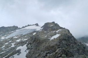 Am Nordostgrat des Lochberges - bis zum Gipfel ist es noch ein Stück