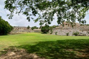 Die Ruinen von Kabah