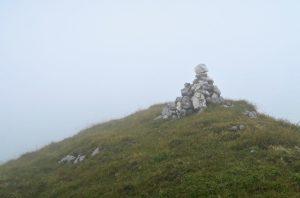 Spektakulärer Gipfelblick am Hinterunnütz