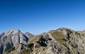 Der Gipfel des Hahnkampl ist nahe.