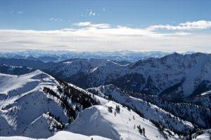 Gipfelblick; links der Auerspitz