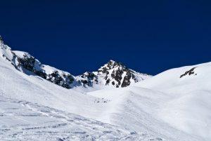 Es geht schon zu auf dem Weg zur Schöntalspitze.
