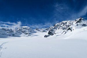 Der Gletscher ist fast erreicht.