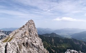 Gipfel Hintere Goinger Halt