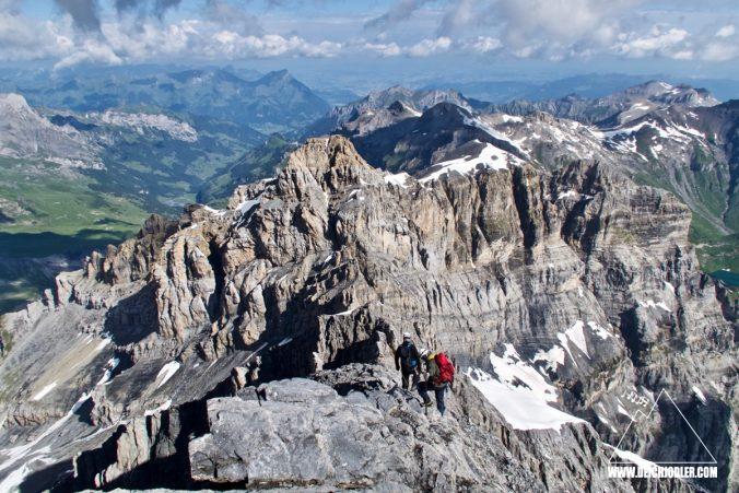 Abstieg Gspaltenhorn