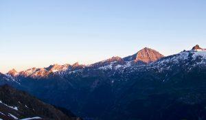 Alpenglühen Balmhorn