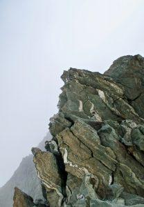 Schlüsselstelle Gipfelgrat