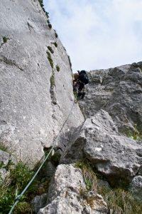 Klettern am Plankenstein