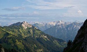 Aussicht in die Lechtaler Alpen