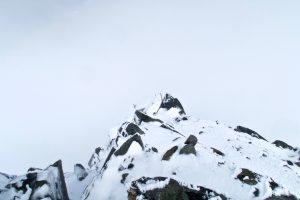 Verschneiter Nordgrat