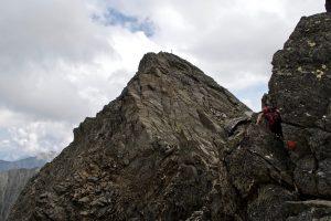 Rotgrubenspitze Gipfelaufbau