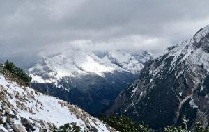 Vogelkarspitze und Östliche Karwendelspitze