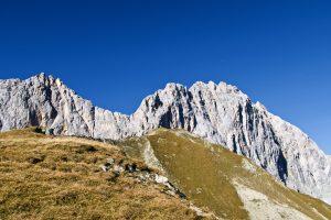 Schüsselkarspitze und Scharnitzspitze