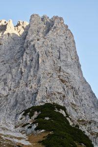 Vordere Karlspitze SO-Grat Übersicht