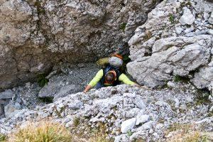 Vordere Karlspitze Südostgrat Zustieg