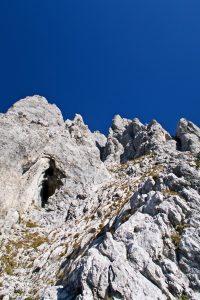Vordere Karlspitze Schrofenterrasse