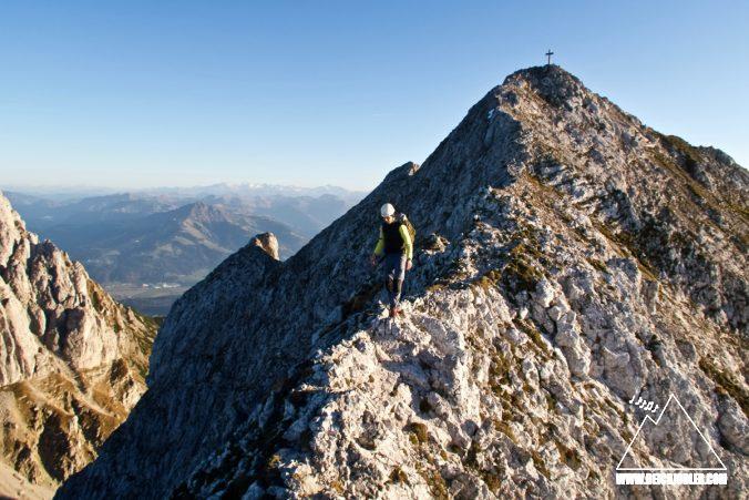 Abstieg Vordere Karlspitze