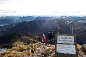 Brünnstein-Aufstieg