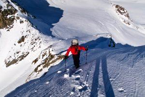 Abstieg Hofmannspitze