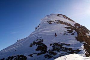 Gipfelgrat Hofmannspitze