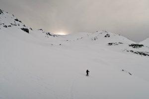 Aufstieg Kolbenspitze